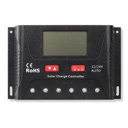 Controladores de Carga PWM SB-SRNE Modelo HP2430 - 30A 12-24V